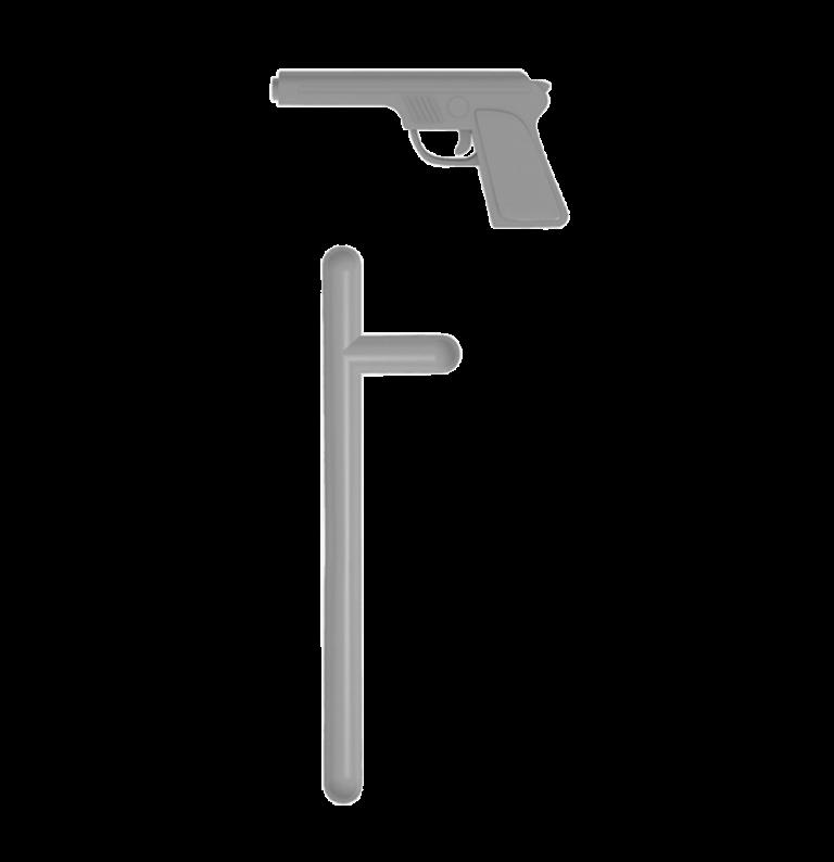 Accesorios Pistola Porra