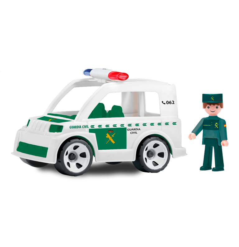 Vehiculo Guardia Civil