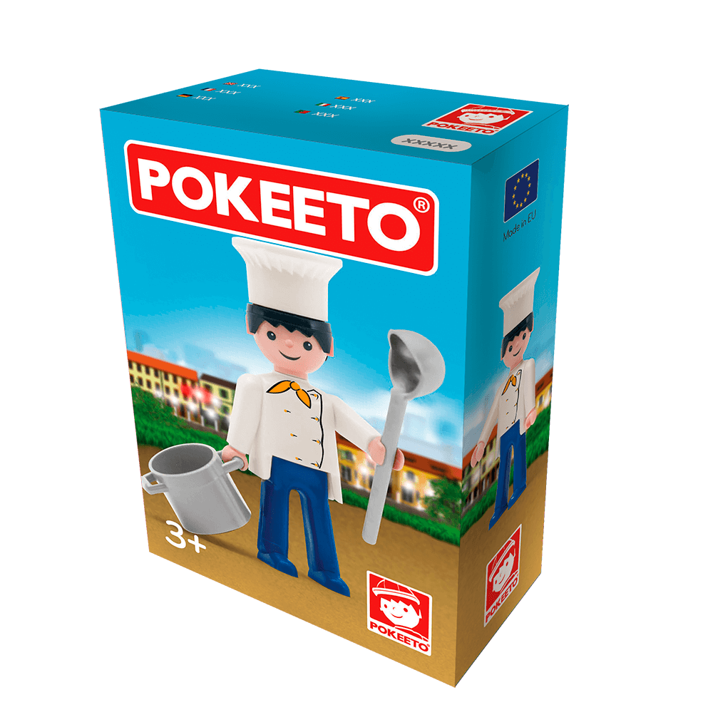 Cocinero caja