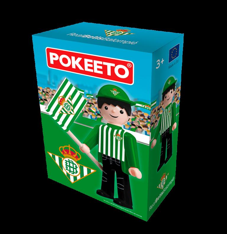 Fan Real Betis caja