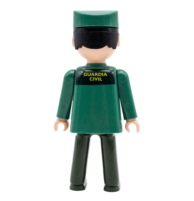 Guardia Civil espalda