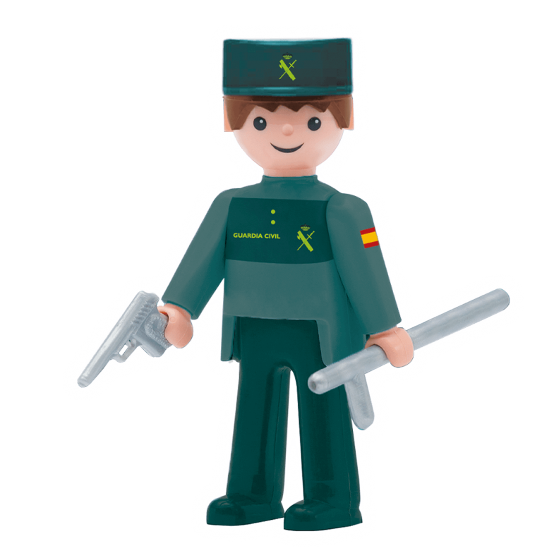 Pokeeto Guardia Civil Hombre